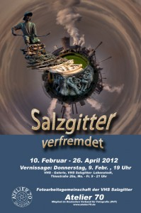 """Ausstellung """"Salzgitter - verfremdet"""" von Atelier 70"""