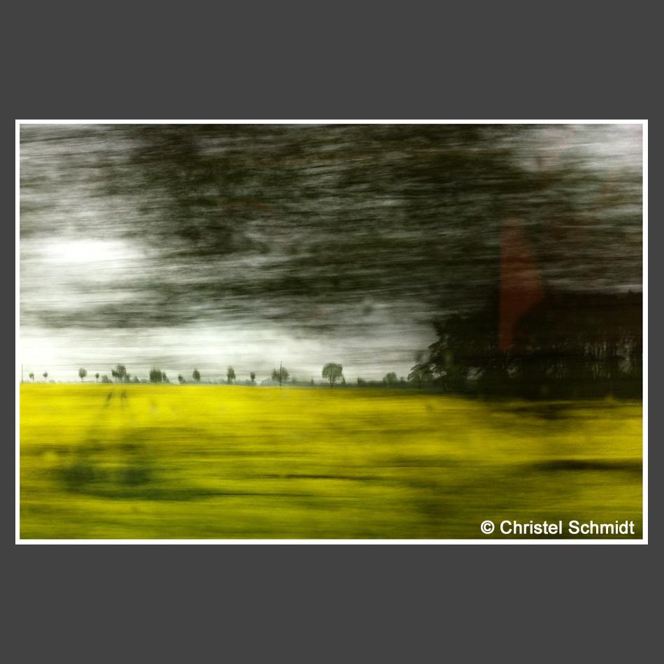 Christel Schmidt_ - aus dem Zug