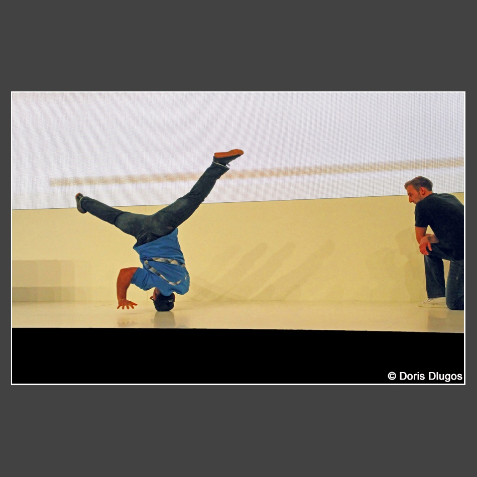Doris Dlugos Break Dance_30x45