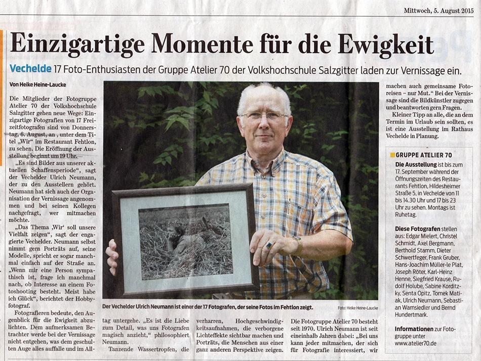 Zeitungsbericht WIR Fethlon 2015.08.05