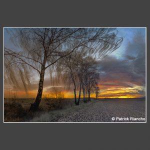 Platz 2 Riancho, Patrick - Sonnenuntergang bei Liebenburg