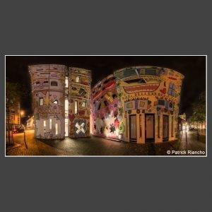 Platz 3 Riancho, Patrick - Rizzihaus bei Nacht