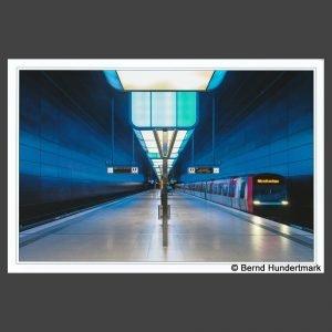 Platz 2 Hundertmark, Bernd - U-Bahn-Station blau